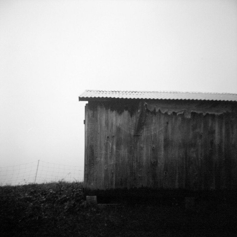 Shack in the fog