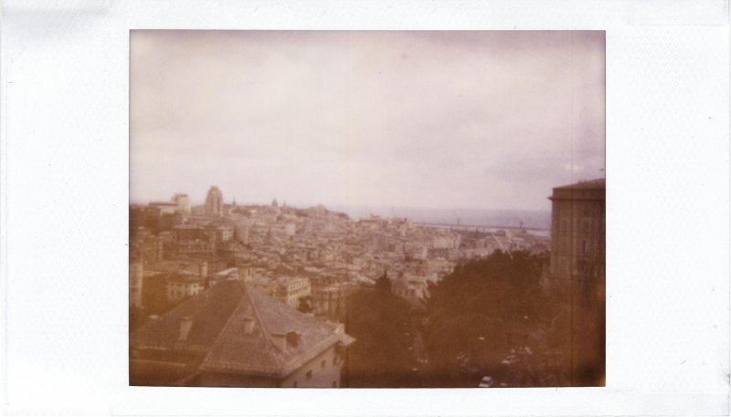 The City - Polaroid 500 film in Joycam: Genova