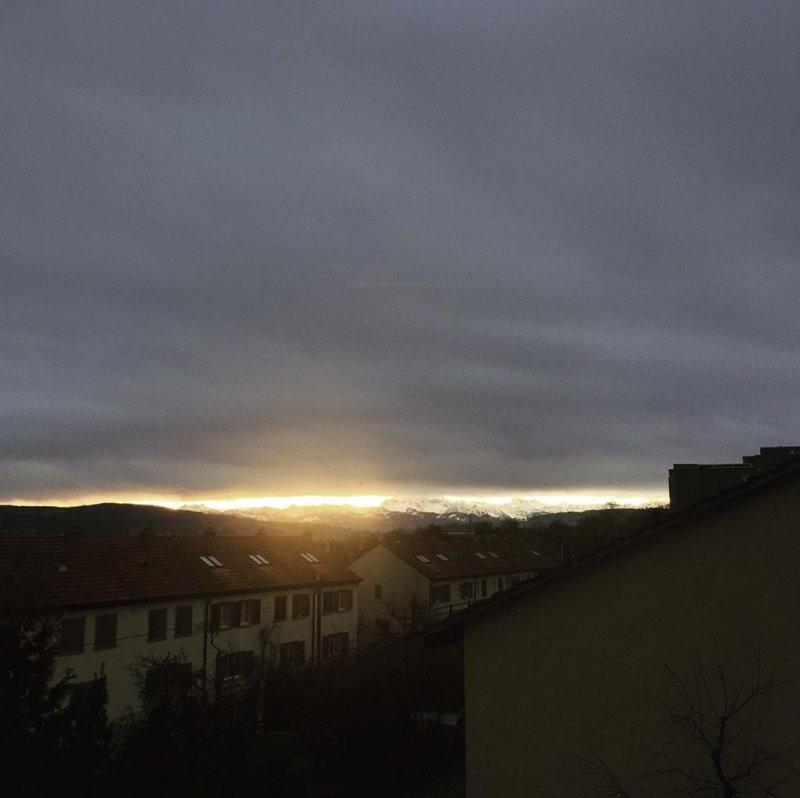 Am kürzesten Tag sah ich die Sonne.